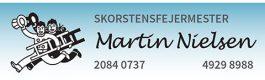 Skorstensfejermester Martin Nielsen